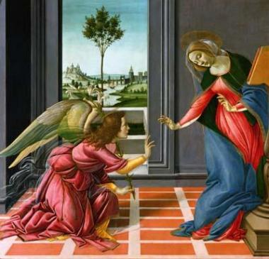 The Annunciation - Sandro Botticelli