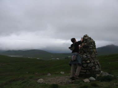 Yours Truly on Rannoch Moor, 2006.