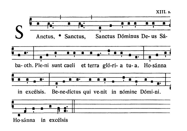 At The Link Below You Can Find A Great Resource On Gregorian Chant
