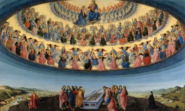 The Assumption of the Virgin, Francesco Botticini (c.1475)